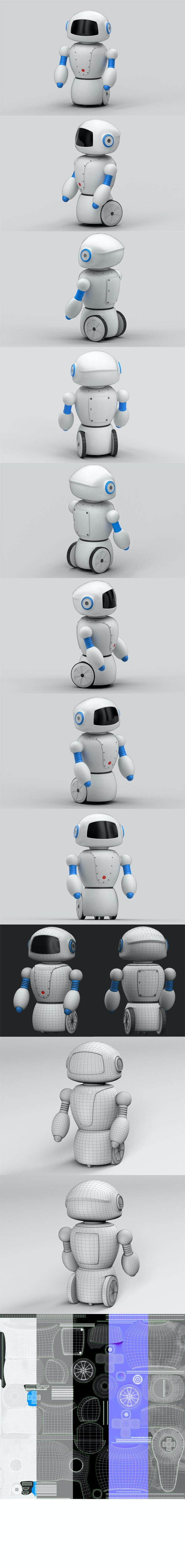 Toy robot - 3DOcean Item for Sale