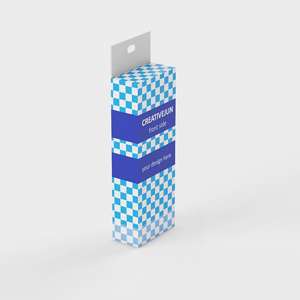 37_Low Poly Product box