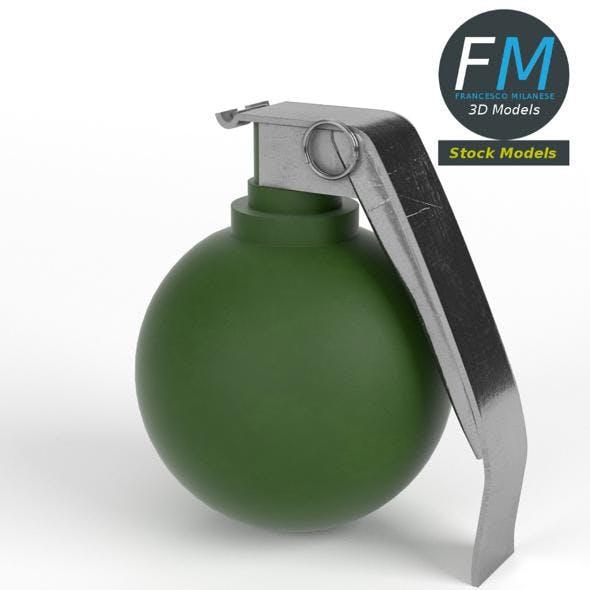 Fragmentation grenade - 3DOcean Item for Sale
