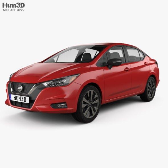 Nissan Versa SR sedan 2020