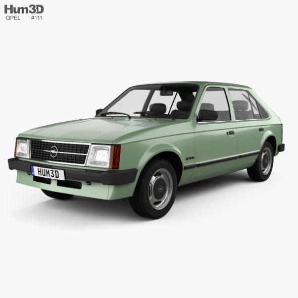 Opel Kadett 5-door 1979