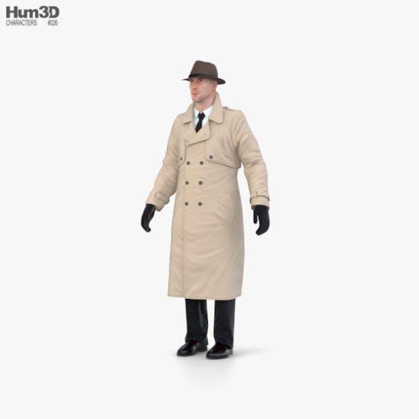 Detective - 3DOcean Item for Sale