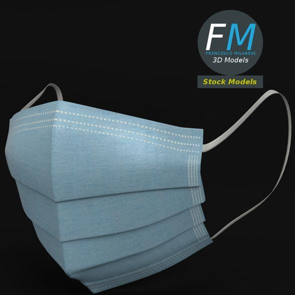 Surgical mask - 3DOcean Item for Sale