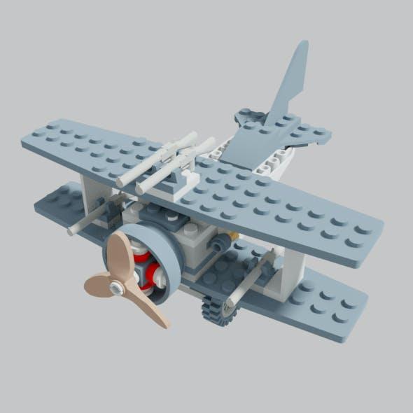 Adventurers Bi-Wing Aircraft