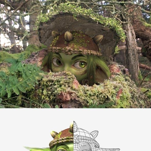 Fantasy Elf Character