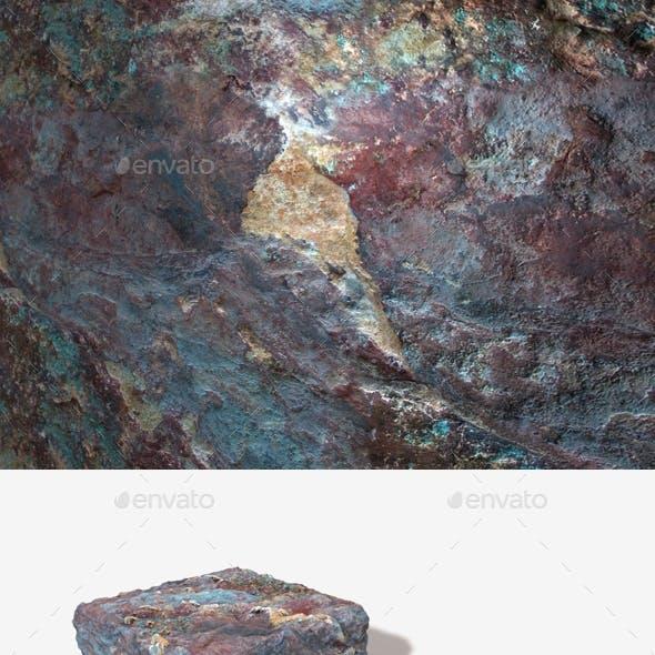 Blue Desert Rock Seamless Texture