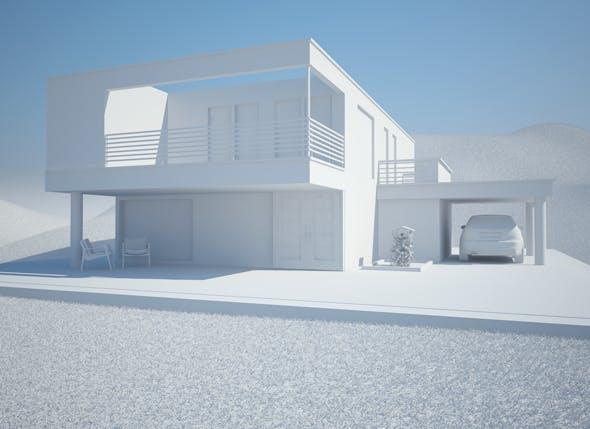Render setup and elements - 3DOcean Item for Sale