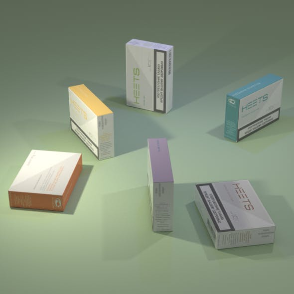 Packs of HEETS sticks - 3DOcean Item for Sale