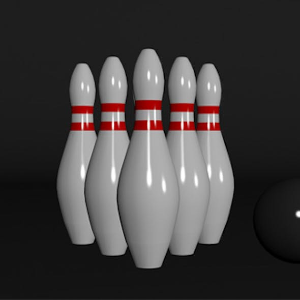 3d model for bowling