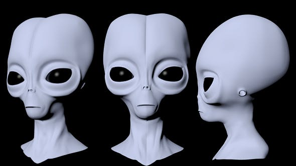 Alien Head By Gureyt 3docean Every day new 3d models from all over the world. alien head