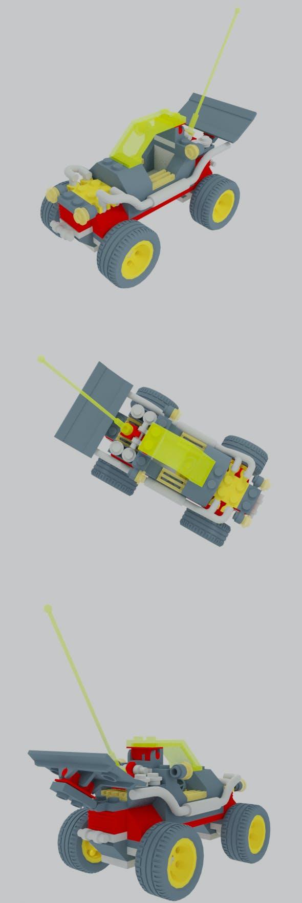 Extreme Team Racer Off Roader - 3DOcean Item for Sale