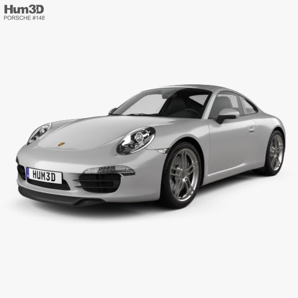Porsche 911 Carrera 4 S coupe 2012