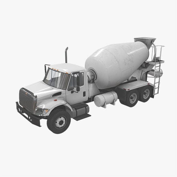 Mixer Truck International 7400