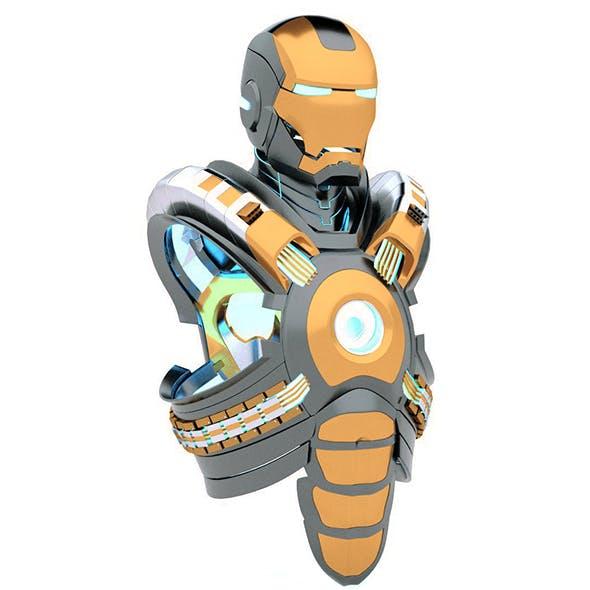 iron man suit, concept design