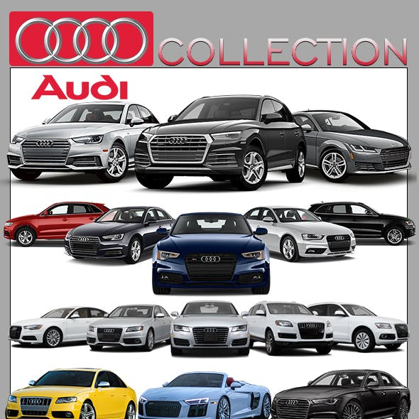 Audi Cars Models Collection