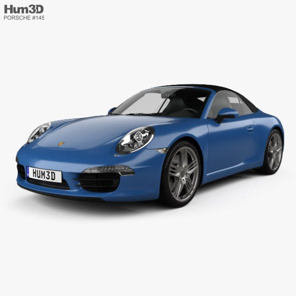 Porsche 911 Carrera 4 cabriolet 2012
