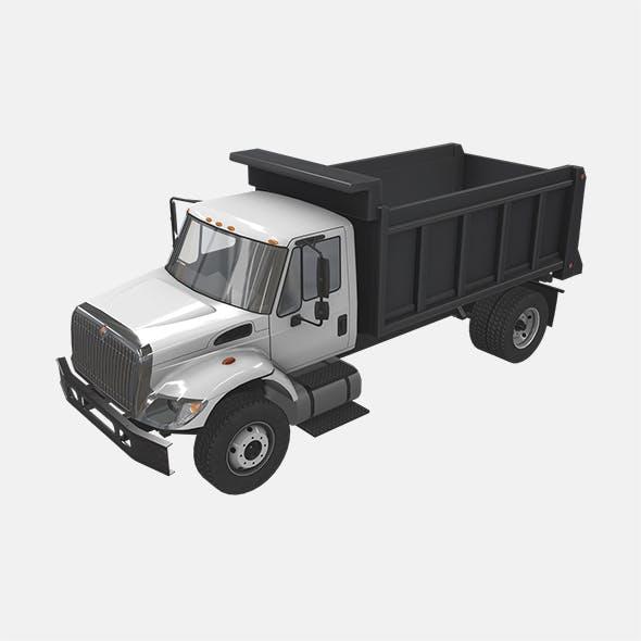 Dump Truck International 7400 2
