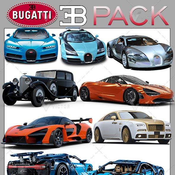 Bugatti Cars Model Packs
