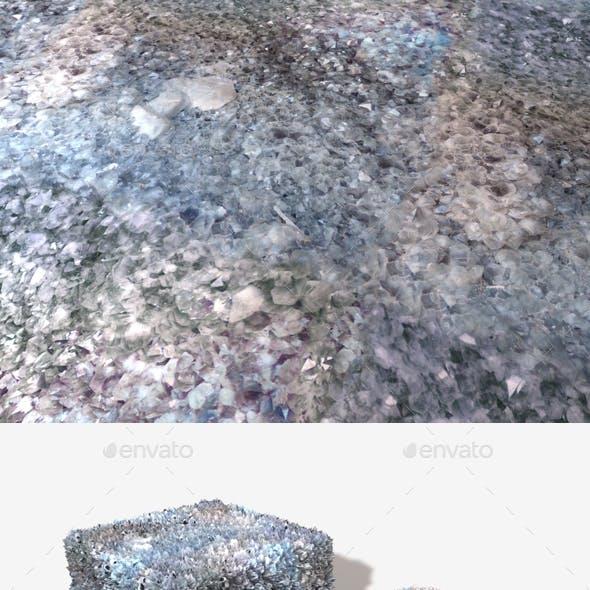 Ice Crystal Seamless Texture