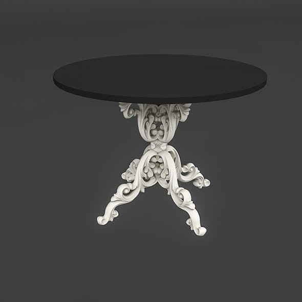 classic patterned table 02