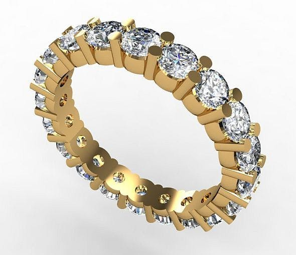 Eternity Ring - 3DOcean Item for Sale
