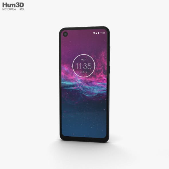 Motorola One Action Denim Blue