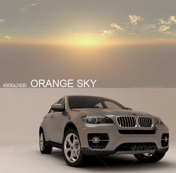 Hdri Orange Sky - 3DOcean Item for Sale