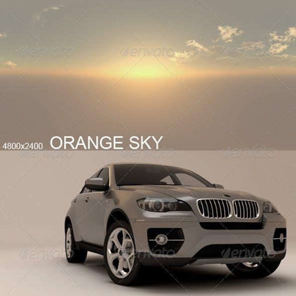 Hdri Orange Sky