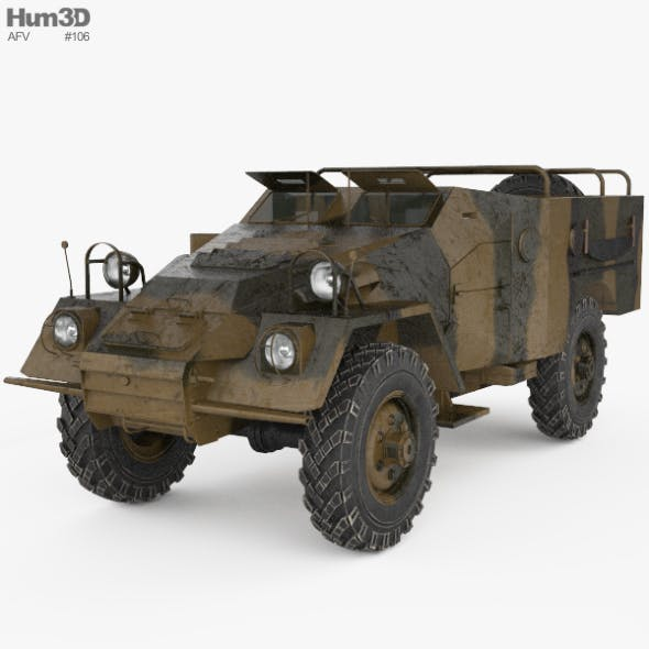 BTR-40 - 3DOcean Item for Sale
