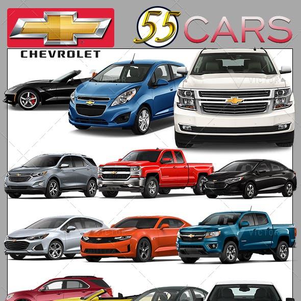 55 Chevrolet Pack