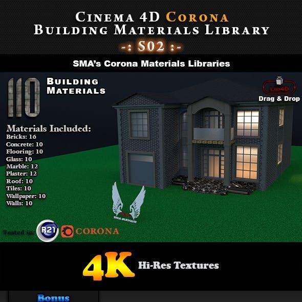 110 x Corona Building Materials S02 for Cinema 4D