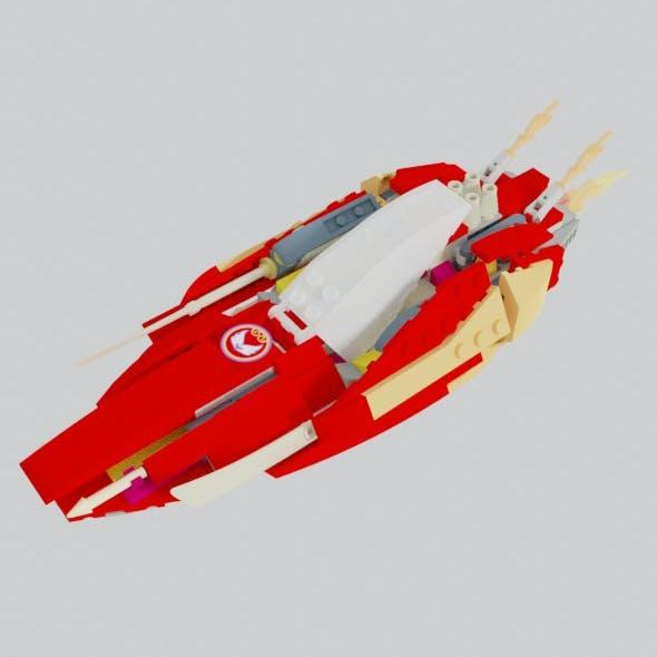 Red Katana Boat