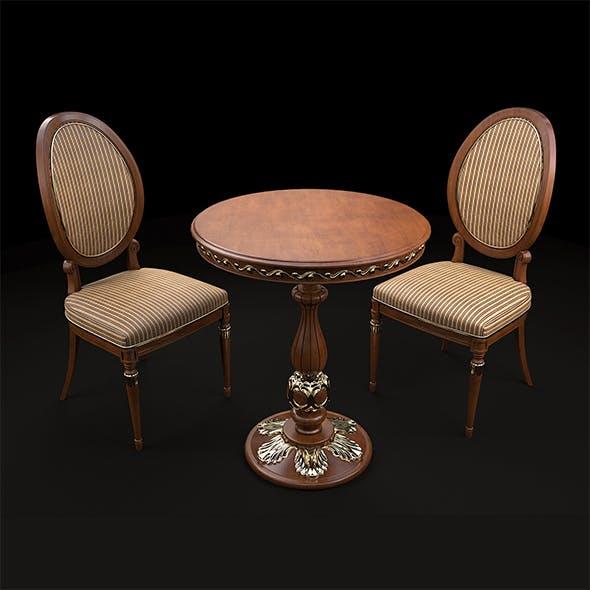 European Style Chair Set
