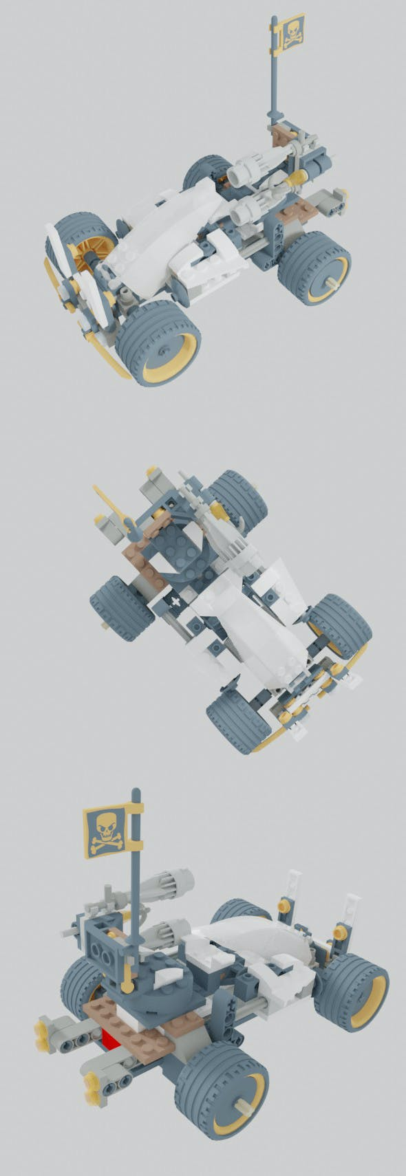 Dragon Attacker Vehicle - 3DOcean Item for Sale