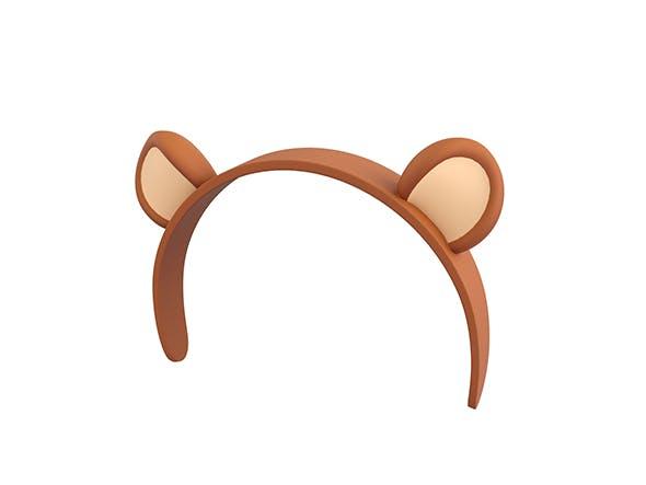 Bear Headband - 3DOcean Item for Sale