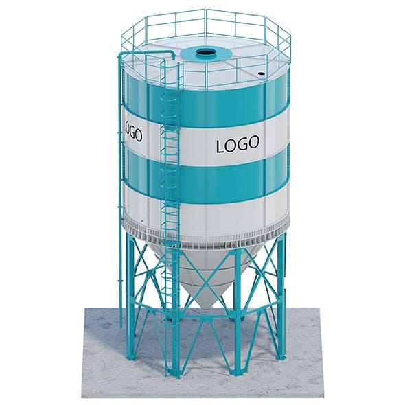 Silo for grain - 3DOcean Item for Sale
