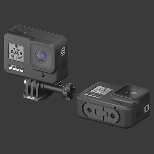 GoPro HERO 8 Black Edition - 3DOcean Item for Sale