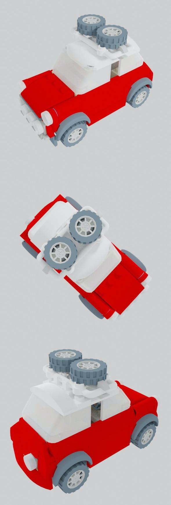 Mini John Cooper Works Buggy - 3DOcean Item for Sale