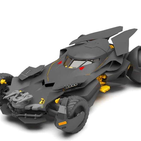Bat mobile car