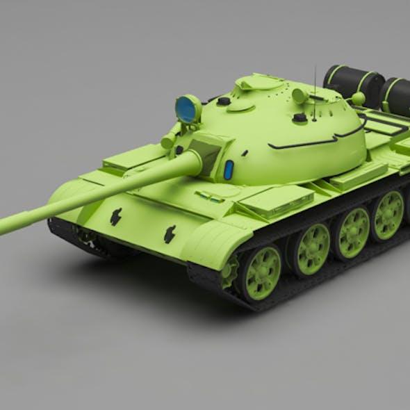 Tank T -55