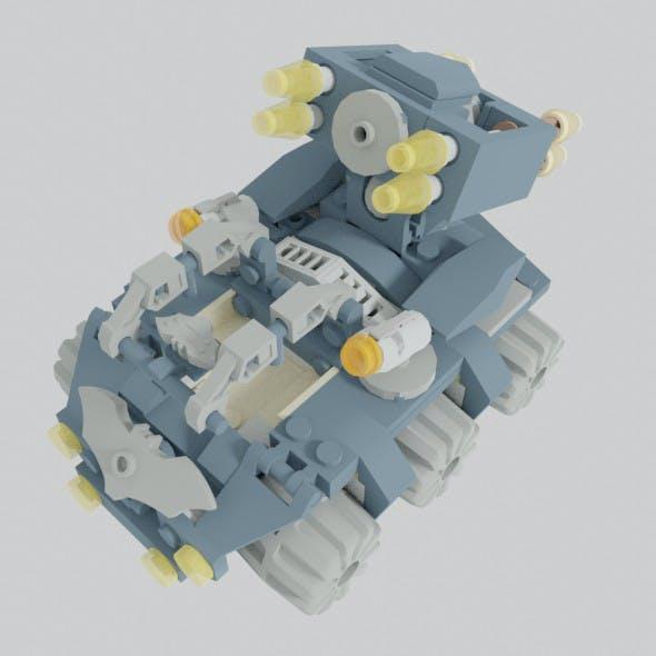 Batmobile Clayface Attacker