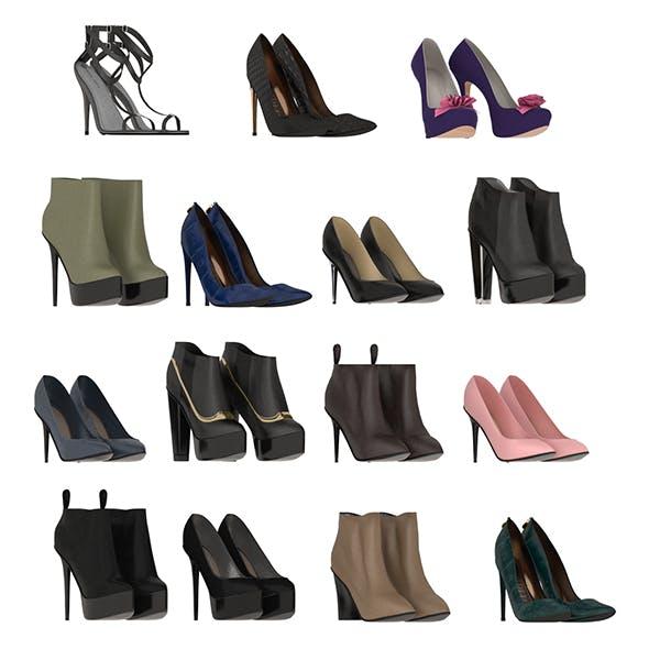 Women Shoes 4 - 3DOcean Item for Sale