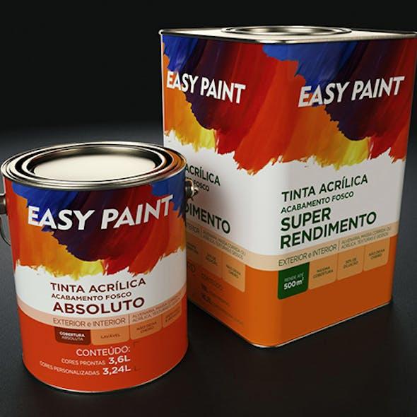 Metal Paint Bucket Pack