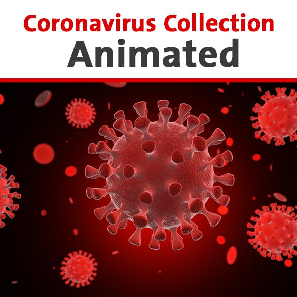 Coronavirus Collection Animated