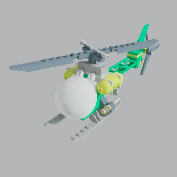 The Riddler Helicopter