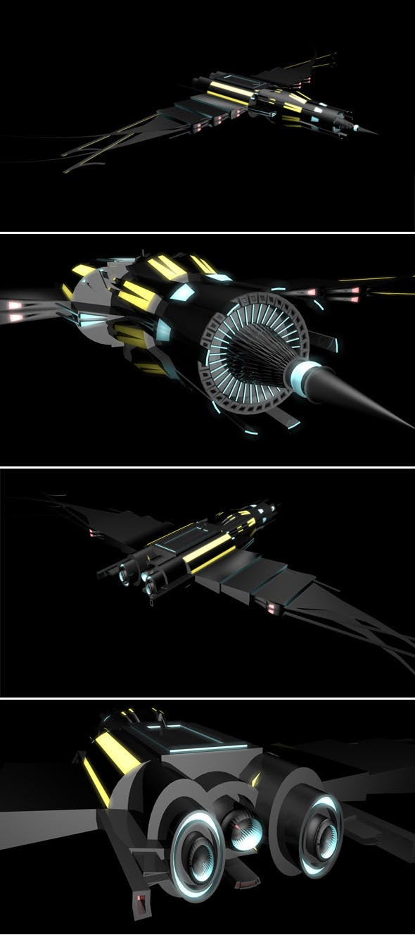 Space Ship - 3DOcean Item for Sale