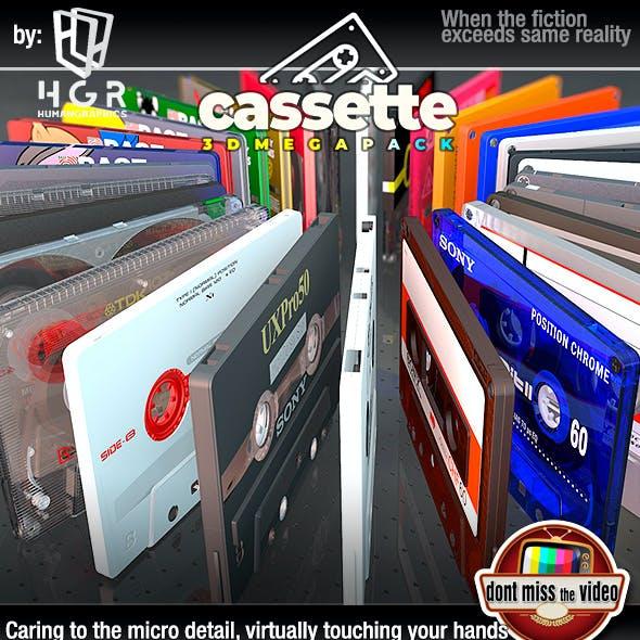 Cassette Megapack 30 diferent models