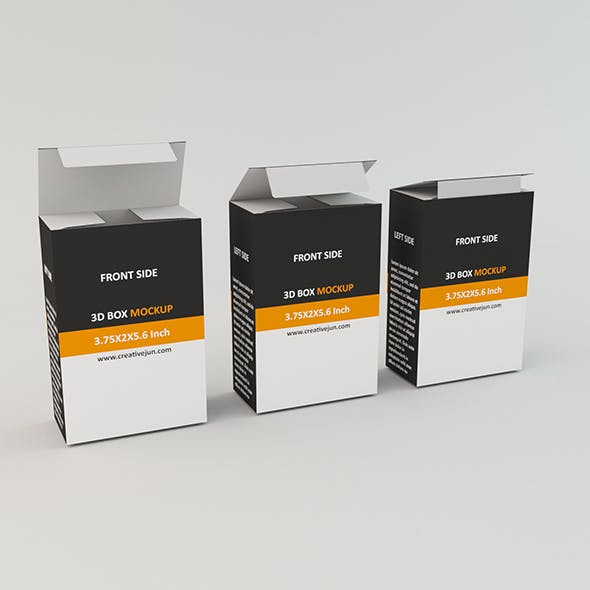 Low Poly Product box