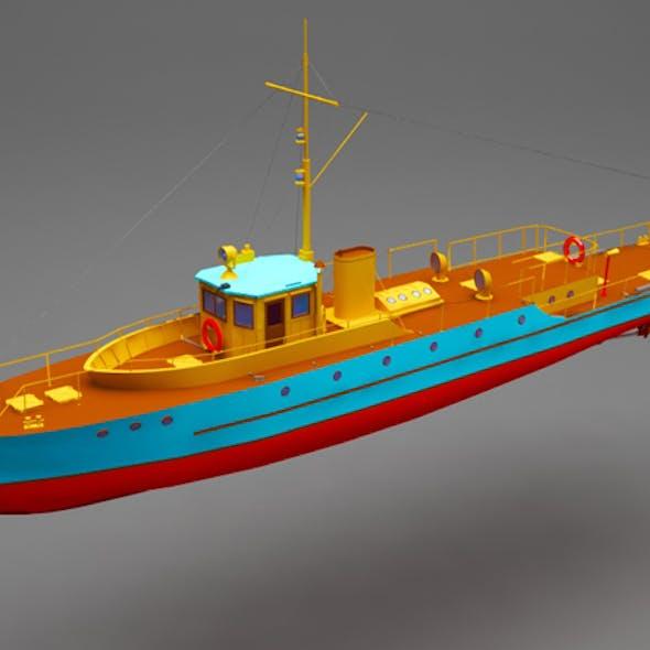 Battle boat