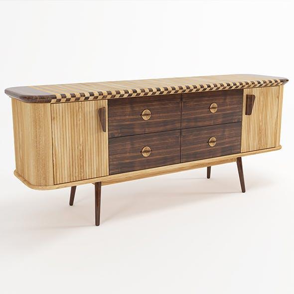 Scandiv Buffet - 3DOcean Item for Sale
